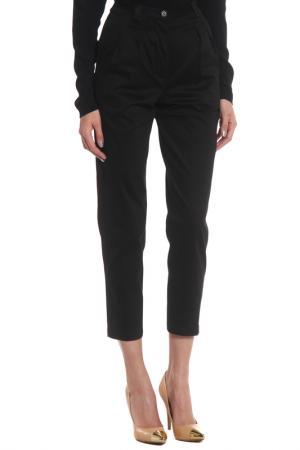 Прямые брюки с карманами Cyrille Gassiline. Цвет: черный