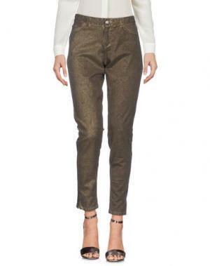 Повседневные брюки 0039 ITALY. Цвет: зеленый-милитари