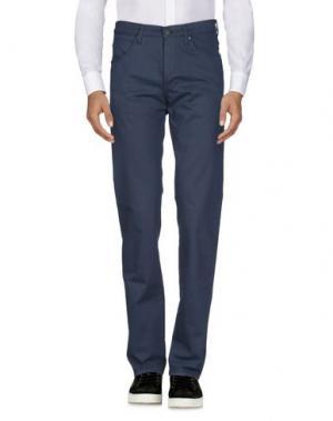 Повседневные брюки WRANGLER. Цвет: темно-синий