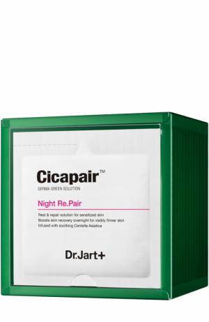 Восстанавливающая ночная крем-маска Cicapair Night Re.Pair Dr.Jart+. Цвет: бесцветный