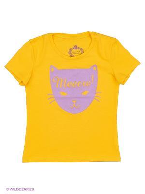 Футболка SWAP. Цвет: желтый