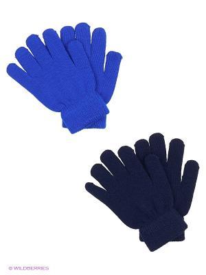 Перчатки Luhta. Цвет: темно-синий