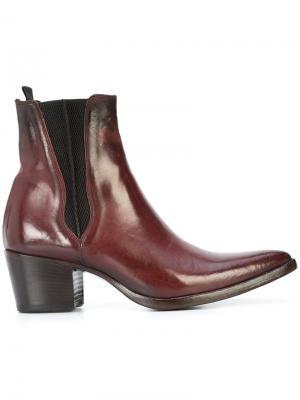 Chelsea boots Alberto Fasciani. Цвет: красный
