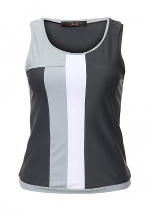 Майка спортивная Dali. Цвет: серый