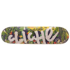 Дека для скейтборда  S6 Hyb Handwritten Psyche Multi 31.6 x 8 (20.3 см) Cliche. Цвет: мультиколор