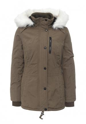Куртка утепленная Halifax. Цвет: хаки