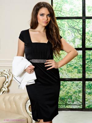 Платье и жакет PARISTAN. Цвет: черный, белый