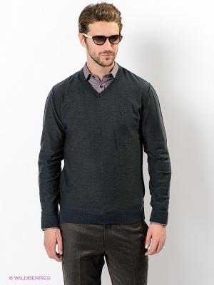 Пуловер Giovane Gentile. Цвет: темно-зеленый