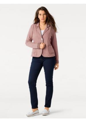 Блейзер B.C. BEST CONNECTIONS by Heine. Цвет: джинсовый синий, оливковый, розовый