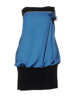 Короткое платье SOOZ by ISABEL C.. Цвет: пастельно-синий
