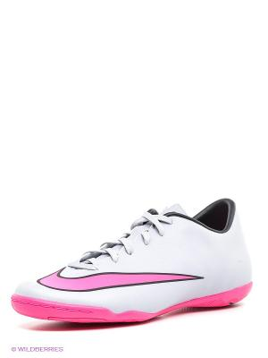 Кроссовки Nike. Цвет: серый, розовый