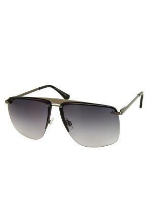 Солнцезащитные очки Dispacci. Цвет: серо-голубой