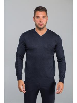 Пуловер John Jeniford. Цвет: темно-серый