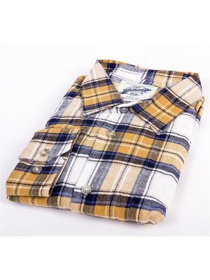 Рубашка Favourite. Цвет: бежевый