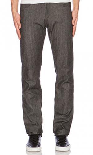 Прямые облегающие джинсы 3sixteen. Цвет: none
