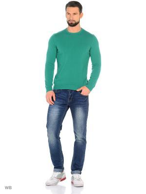 Джемпер United Colors of Benetton. Цвет: лазурный, морская волна