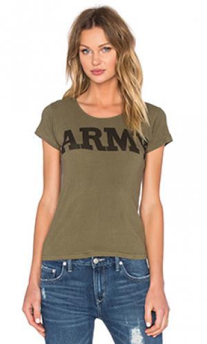 Футболка army NLST. Цвет: оливковый