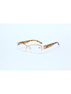 Очки корригирующие (для чтения)  302 Fabia Monti +2.75 PROFFI. Цвет: золотистый