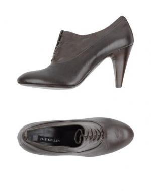 Обувь на шнурках THE SELLER. Цвет: свинцово-серый