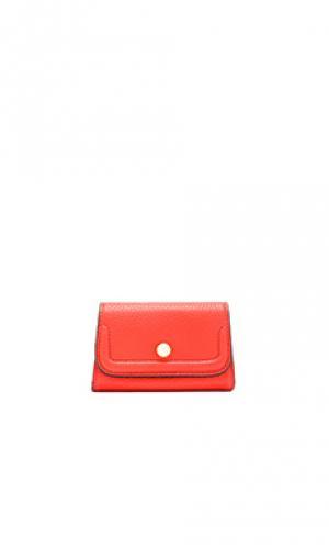 Кейс для кредитных карт mia Annabel Ingall. Цвет: красный