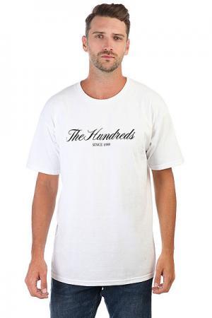 Футболка  Rich 80 T-shirt White The Hundreds. Цвет: белый