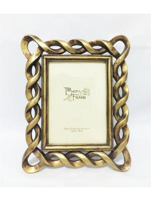 Фоторамка декоративная Золотая Magic Home. Цвет: золотистый
