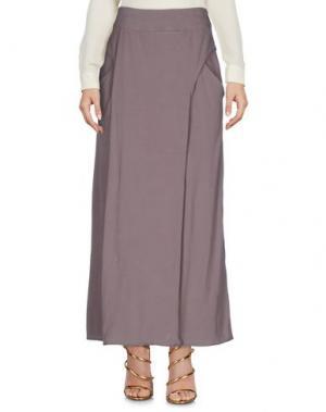 Длинная юбка EUROPEAN CULTURE. Цвет: светло-коричневый