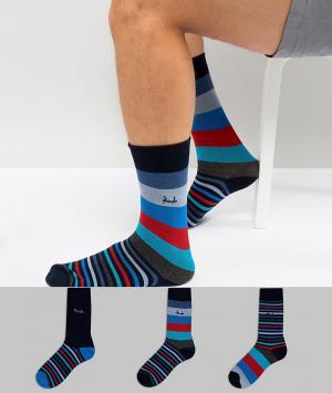 Pringle 3 пары носков Shetland. Цвет: мульти