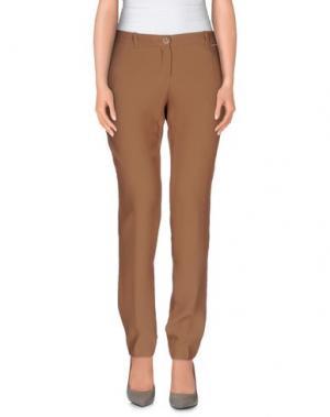 Повседневные брюки REBEL QUEEN. Цвет: хаки