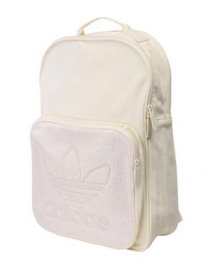 Рюкзаки и сумки на пояс ADIDAS ORIGINALS. Цвет: слоновая кость