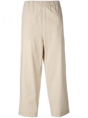 Широкие брюки Lucio Vanotti. Цвет: телесный