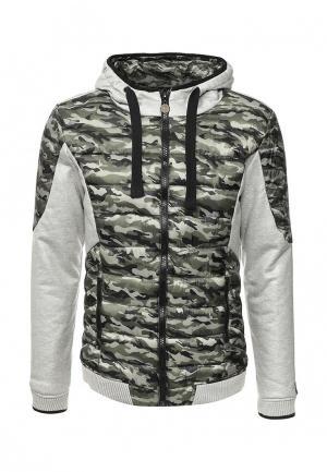 Куртка утепленная Boxeur Des Rues. Цвет: хаки