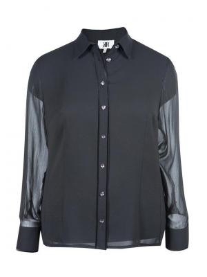 Блузка KR. Цвет: черный