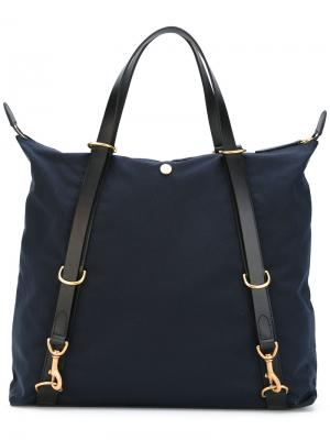 Contrast handle tote Mismo. Цвет: синий