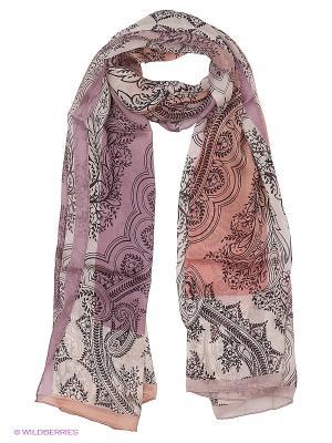 Платок Fabretti. Цвет: бледно-розовый
