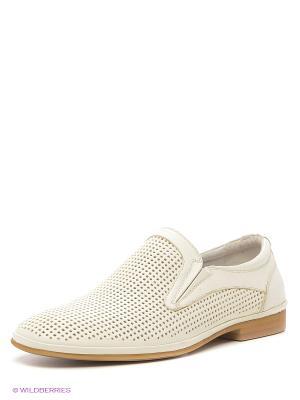 Туфли Dino Ricci. Цвет: белый