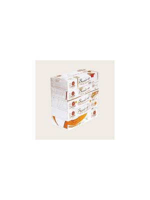 Блок из 5 упаковок бумажных салфеток серии Sumi-e, 2 слоя, по 130 шт., FT142/1 Maneki. Цвет: белый