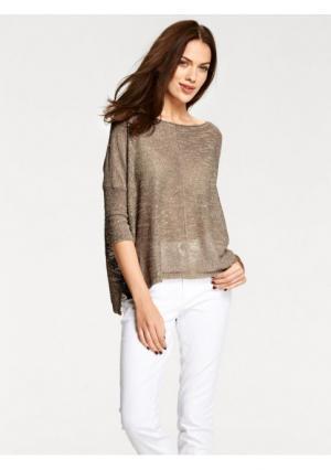Пуловер B.C. BEST CONNECTIONS by Heine. Цвет: серо-коричневый