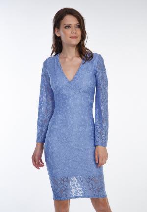 Платье Irma Dressy. Цвет: голубой