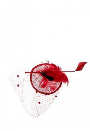 Вуалетка Diana Pavlovskaya. Цвет: красный