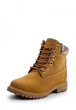 Ботинки Exquily. Цвет: коричневый