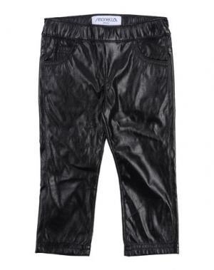 Повседневные брюки SIMONETTA MINI. Цвет: черный