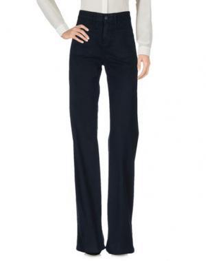 Повседневные брюки VANESSA BRUNO. Цвет: темно-синий