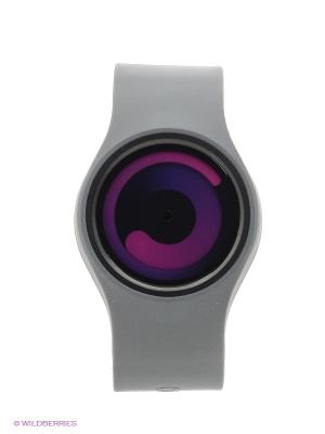 Наручные часы Gravity Grey - Purple Ziiiro. Цвет: лиловый, серый
