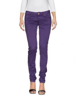 Джинсовые брюки NOVEMB3R. Цвет: фиолетовый