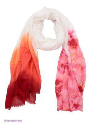 Палантин Venera. Цвет: розовый, белый