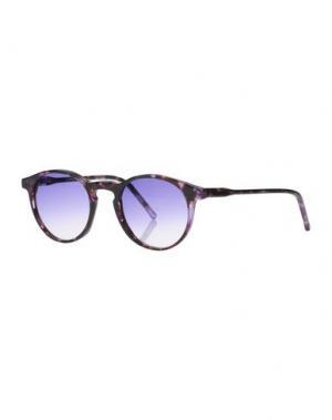 Солнечные очки KYME. Цвет: фиолетовый