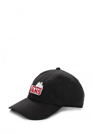 Бейсболка Vans. Цвет: черный