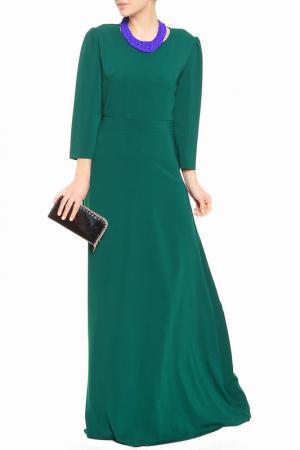 Платье BGN. Цвет: green