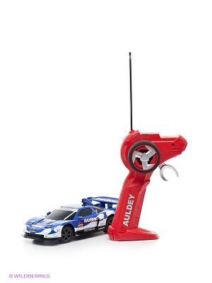 Машина р/у HONDA NSX SUPER GT AULDEY. Цвет: синий